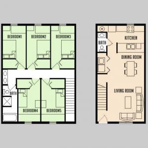 Carriage Way - Floorplan - 5BED 1.5BATH